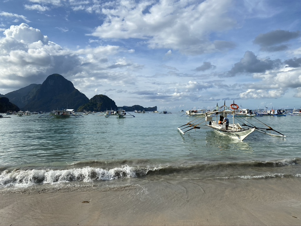 El Nido, beach, city center