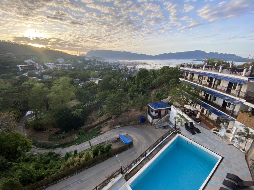 Skylodge Resort, View on Coron