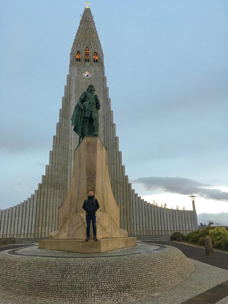 Hallgrímskirkja church - main landmark - Reykjavík