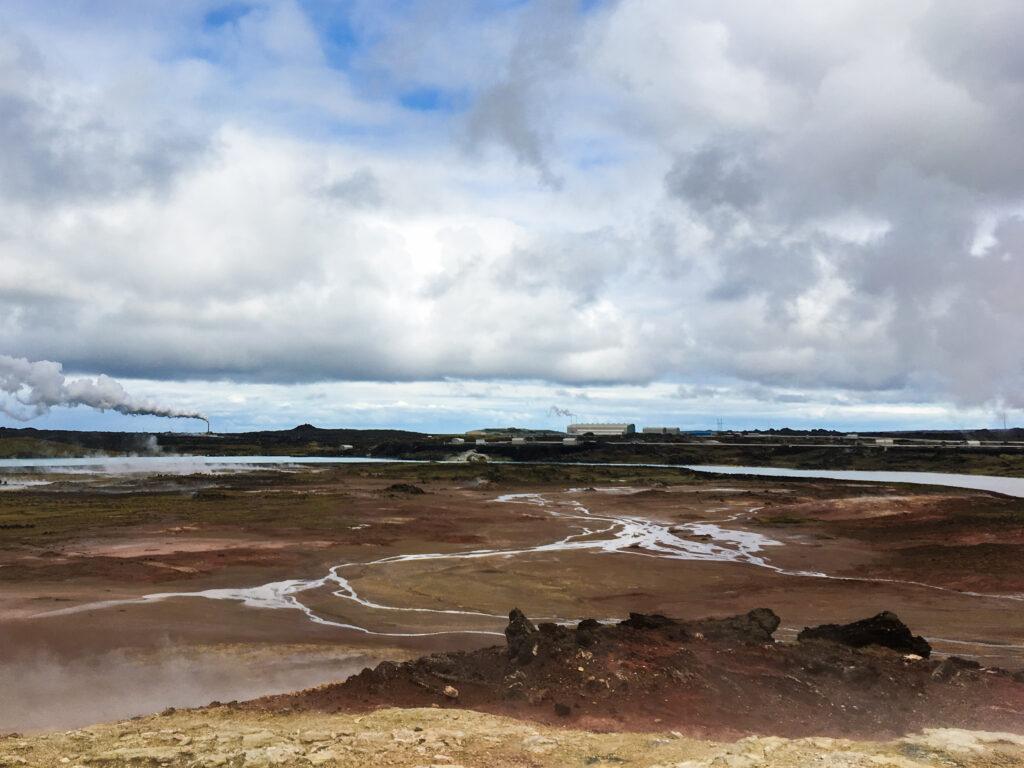 Zone géothermique très active - Islande - péninsule de Reykjanes