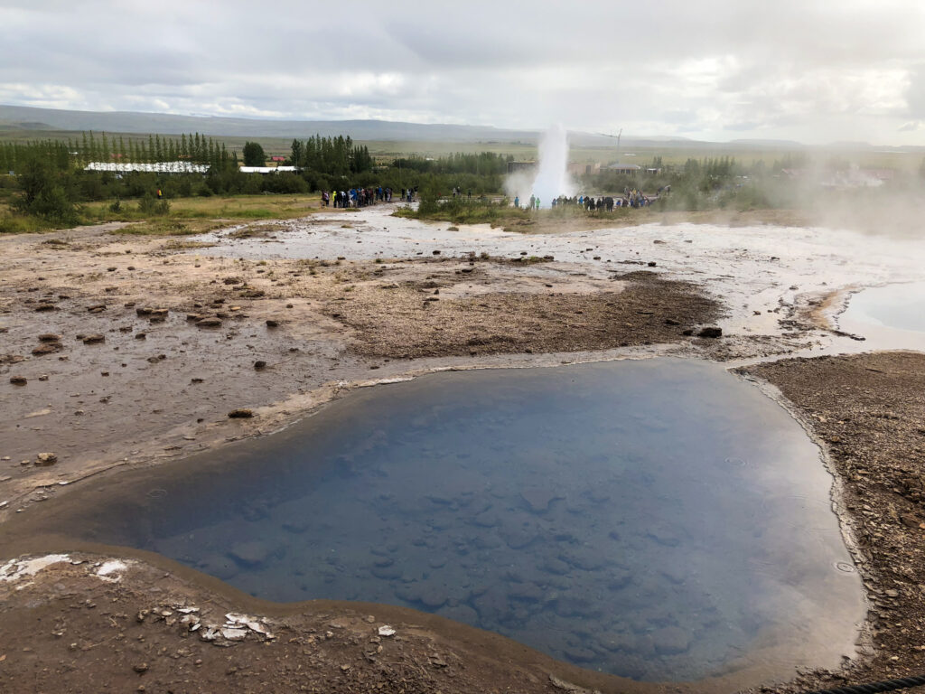 Strokkur - Geysir - golden circle