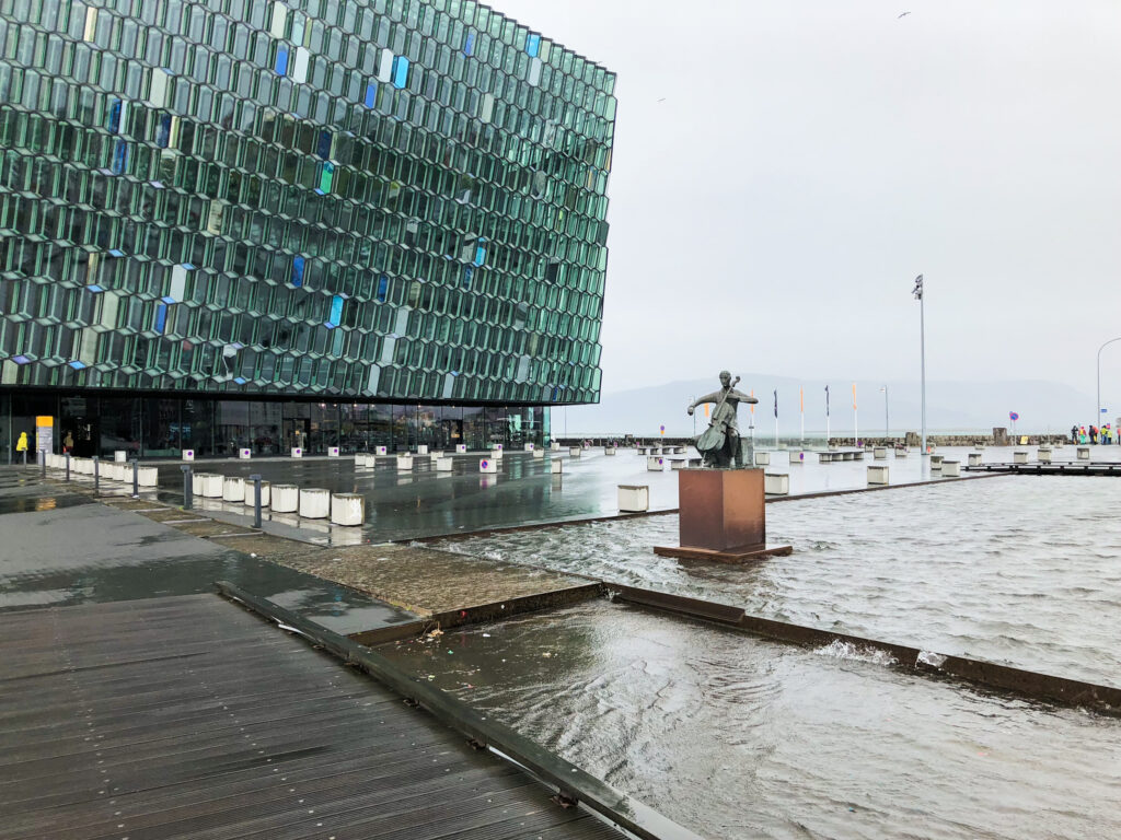 Harpa - salle de concert - Reykjavík