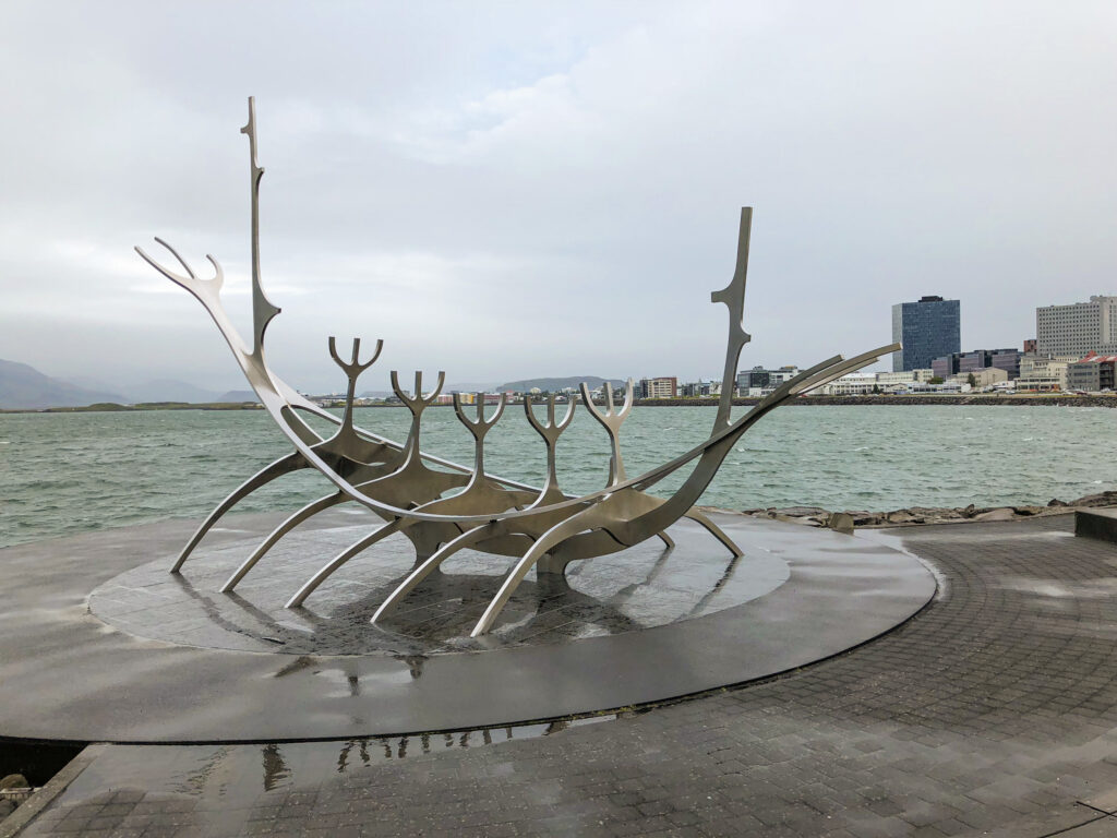 The Sólfar - Sun Voyager en anglais - Reykjavík