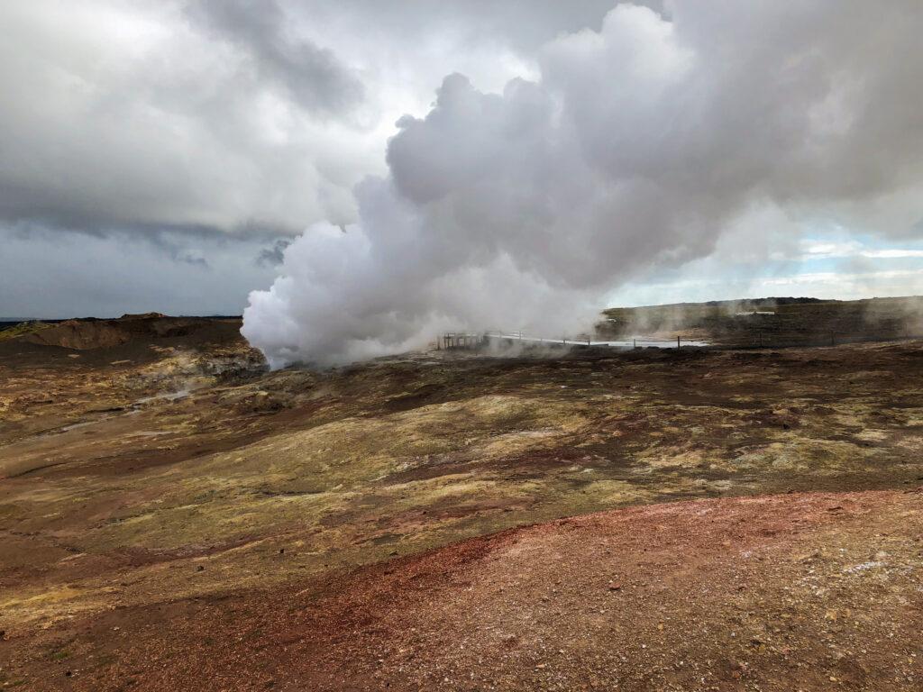 Gunnuhver - Islande - péninsule de Reykjanes