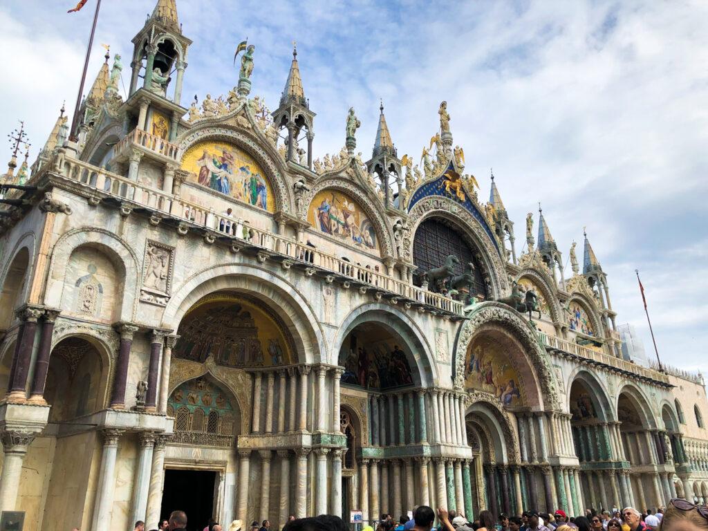 Entrée à la basilique San Marco