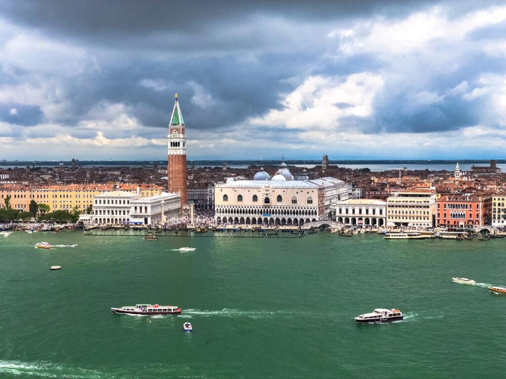 Venice panoramic view - Campanile - San Giorgio Maggiore