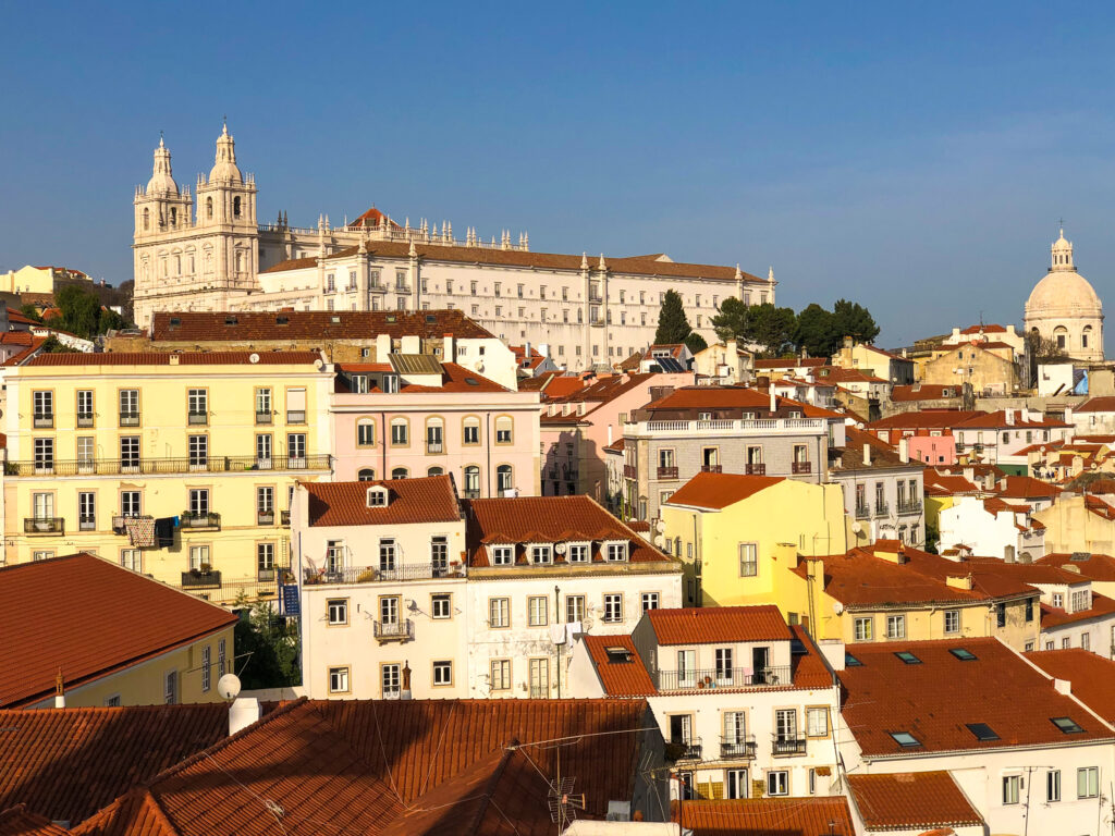View from the Miradouro das Portas do Sol - Lisbon