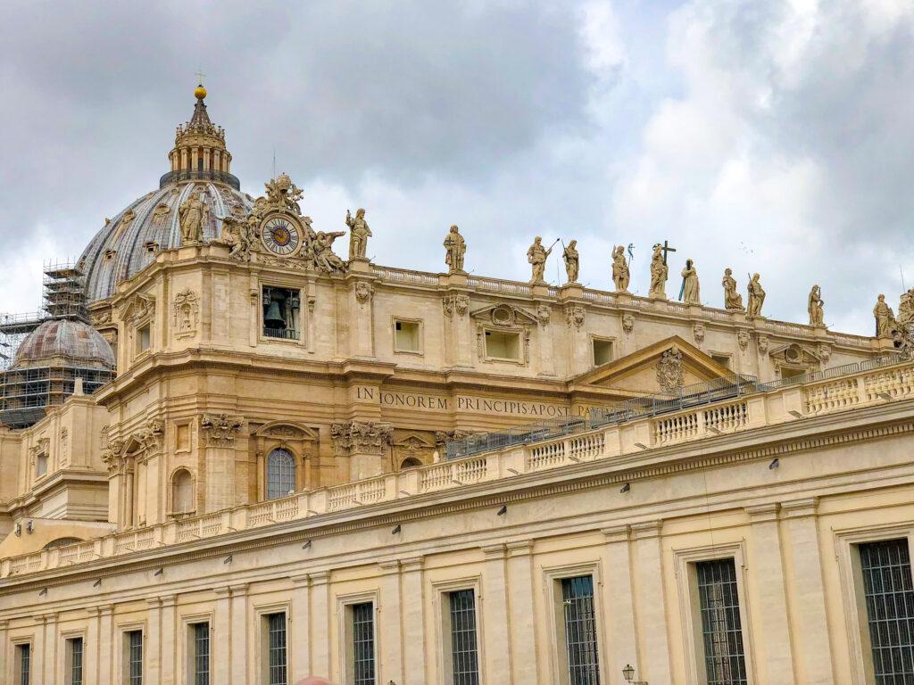 Toit de la basilique Saint-Pierre