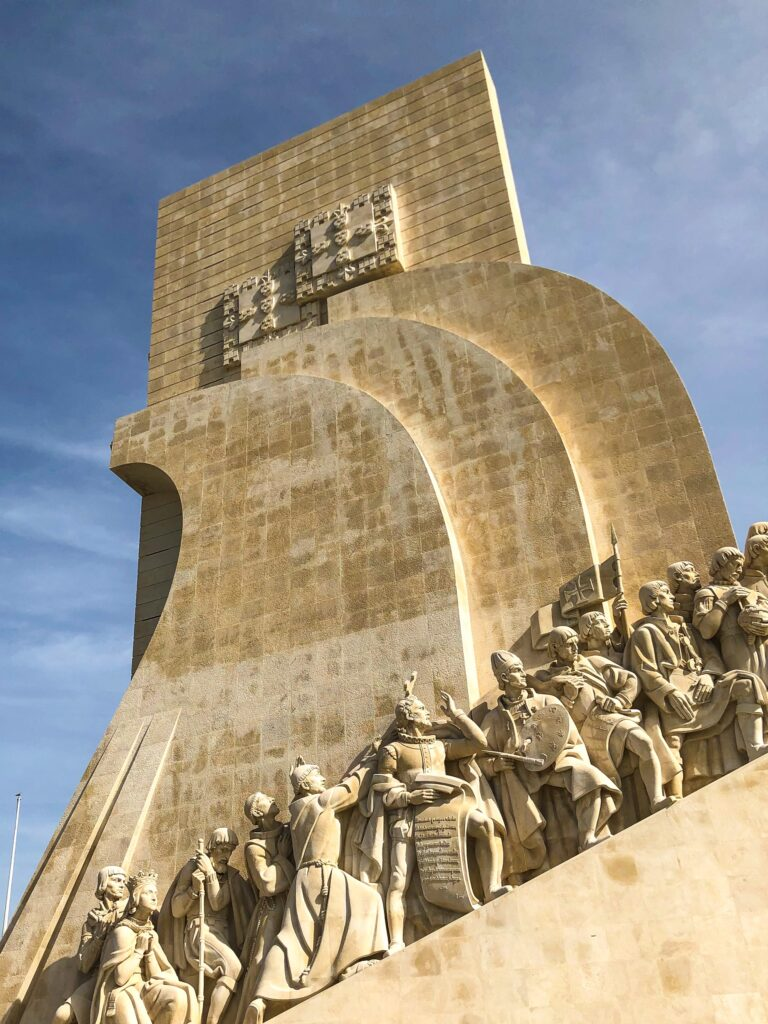 The Monument of the Discoveries or Padrão dos Descobrimentos in Portuguese