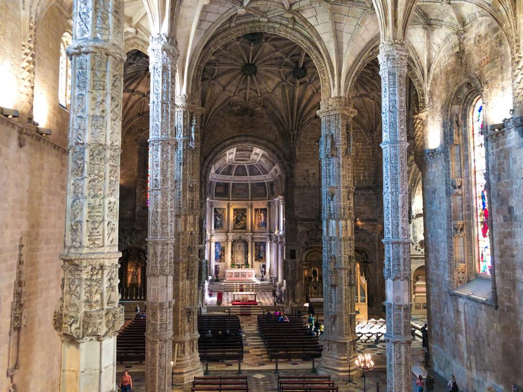 Chapelle à l'intérieur du Mosteiro dos Jerónimos - Belém