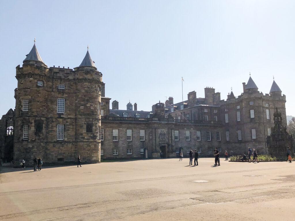 Le palais de Holyrood House - Edimbourg