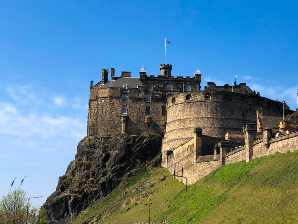 Le château d'Édimbourg
