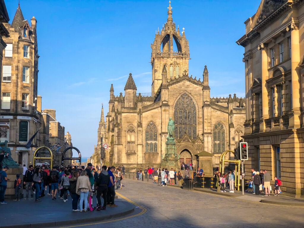 The Royal Mile - Edinburgh