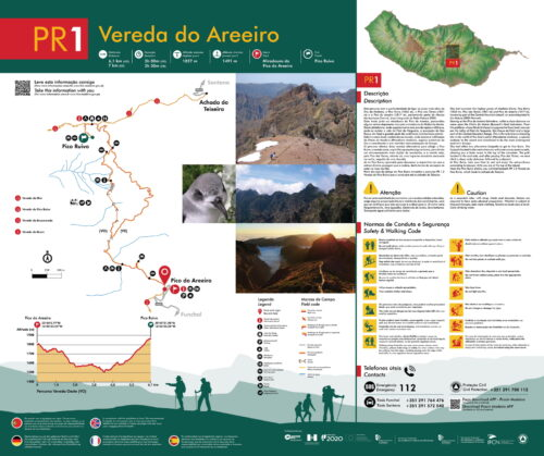 Trail brochure - PR1 - Verada do Pico do Arieiro