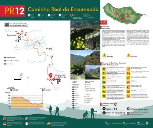 Trail brochure - PR12 - Caminho Real da Encumeada