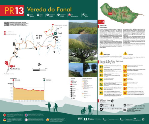 Trail brochure - PR13 - Vereda do Fanal