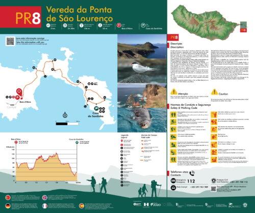 Trail brochure - PR8 - Verada da Ponta de São Lourenço