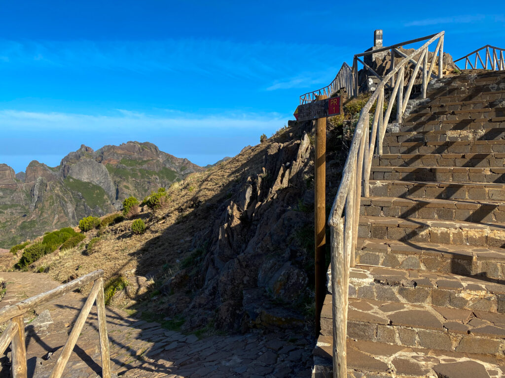Starting Point PR1 from Pico do Arieiro